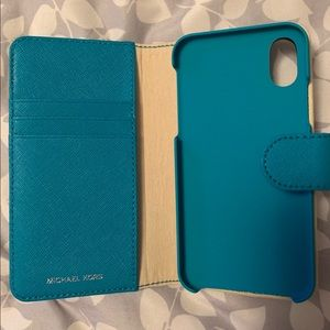 Michael Kors Teal iPhone X Case